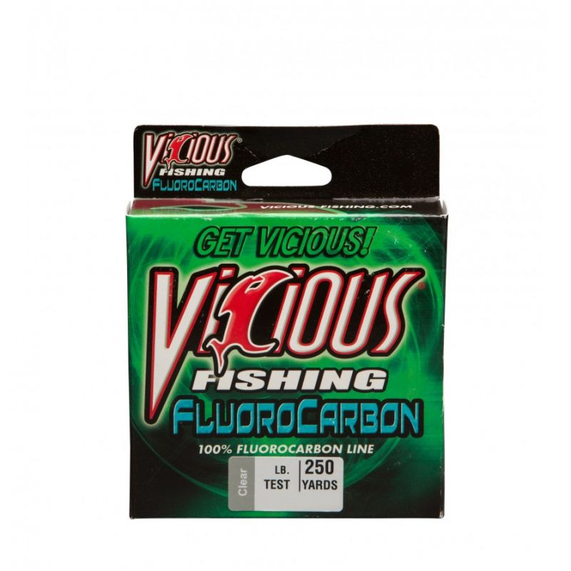 Vicious 100% Fluorocarbon 500 Yards