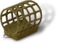 20g 3,5cm Coated Feeder L L olive green 2,8cm