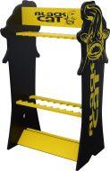 Black Cat Rod Display 60cm 105cm