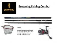 Browning Fishing Combo Deal Ambition Fishing Reel + Rod, Skep net Handel + Head ( Was R 1395)